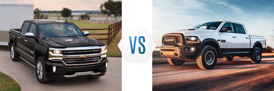 2018 Chevrolet Silverado 1500 vs Dodge Ram 1500