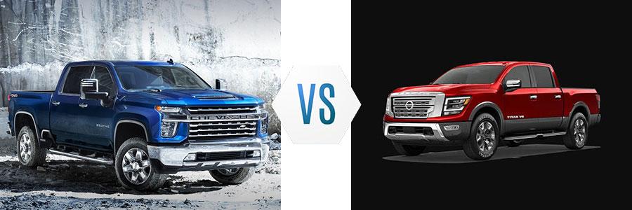 2020 Chevrolet Silverado 2500HD vs Nissan Titan XD