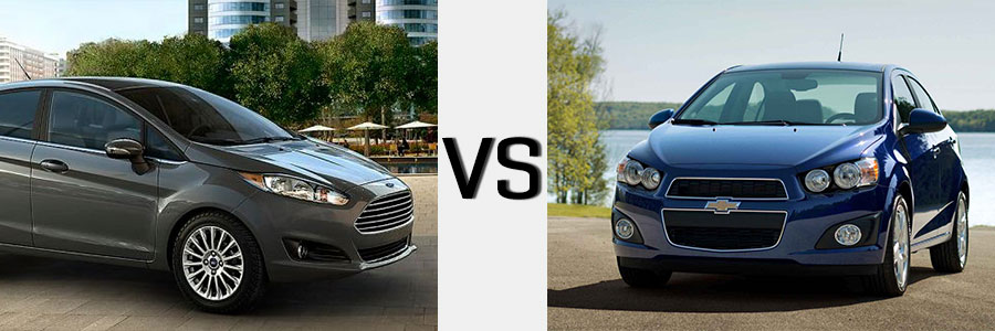 2014 Sonic vs Ford Fiesta