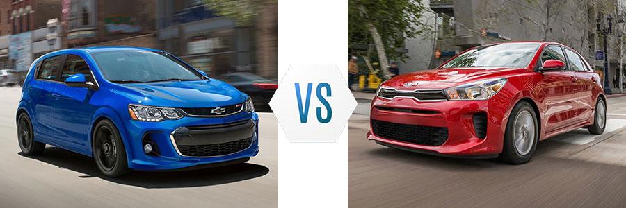 2020 Chevrolet Sonic vs Kia Rio