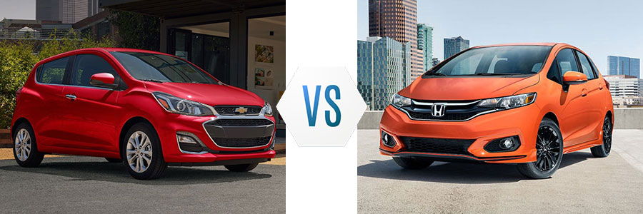 2020 Chevrolet Spark vs Honda Fit