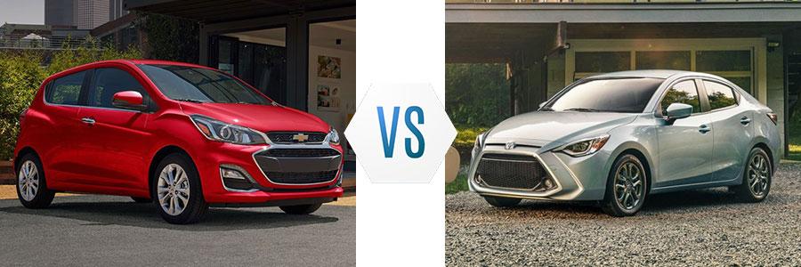 2020 Chevrolet Spark vs Toyota Yaris
