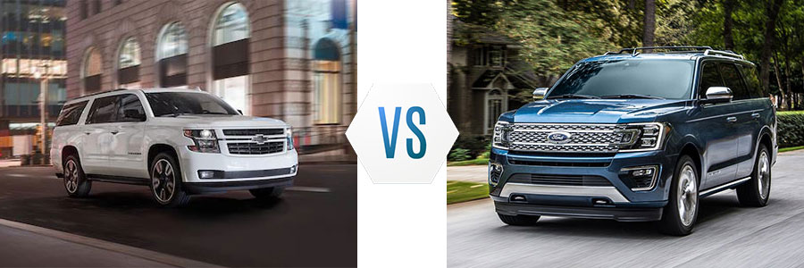 2020 Chevrolet Suburban vs Ford Expedition