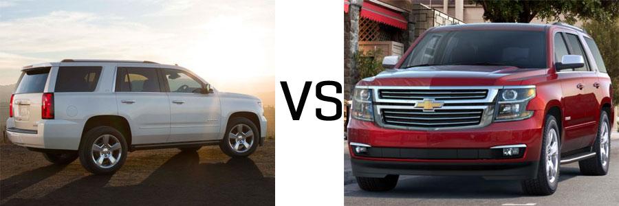 2015 Tahoe vs 2014 Tahoe | Burlington Chevrolet