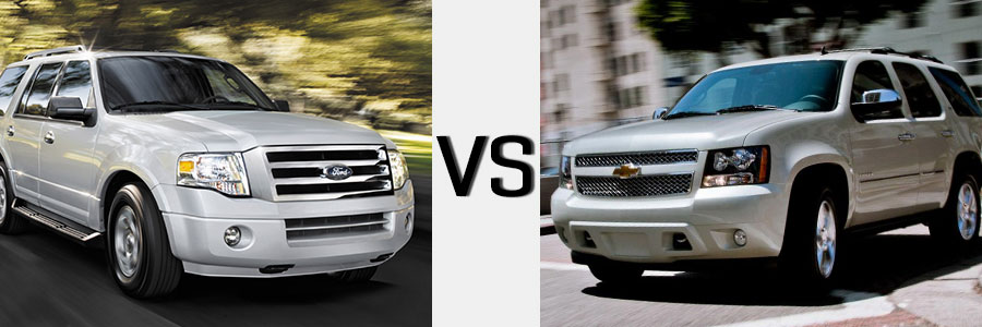 2014 Tahoe vs Ford Expedition