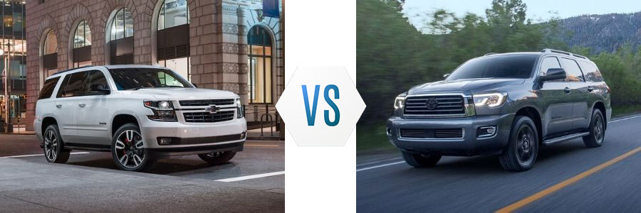 2020 Chevrolet Tahoe vs Toyota Sequoia