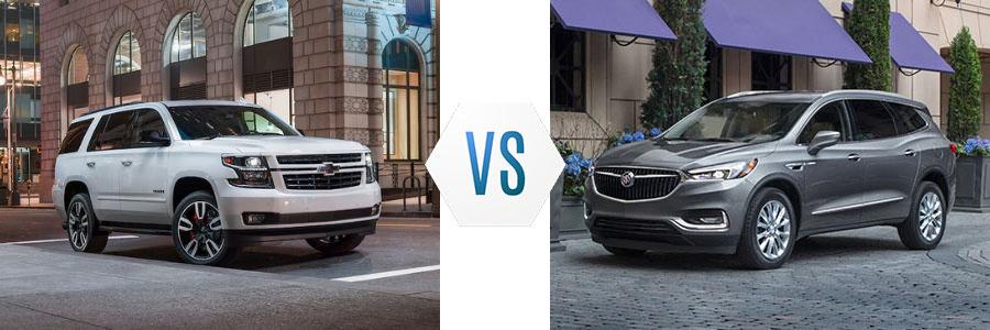2020 Chevrolet Tahoe vs Buick Enclave