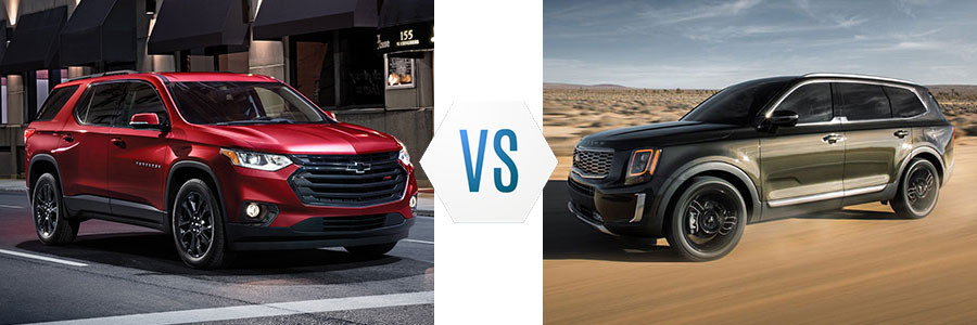 Chevrolet Traverse vs Kia Telluride