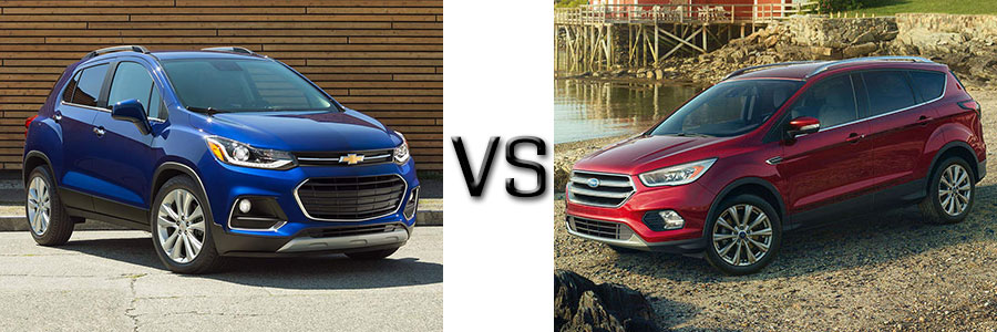 2017 Chevrolet Trax vs Ford Escape