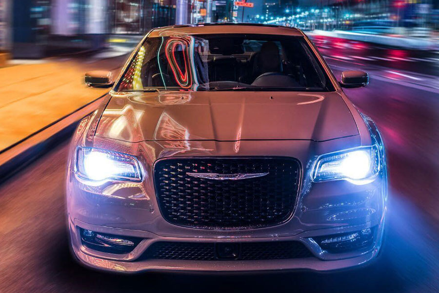 2020 Chrysler 300 on the Road