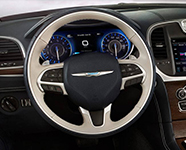 2017 Chrysler 300 Heated Steering Wheel