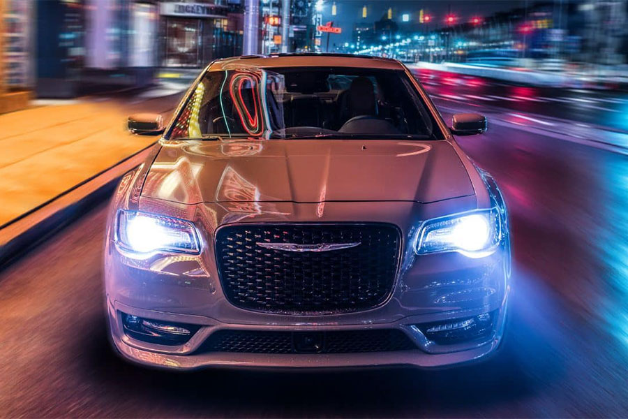 2019 Chrysler 300 on the Road