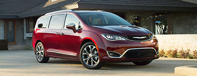 2017 Chrysler Pacifica Handsome Exterior Style