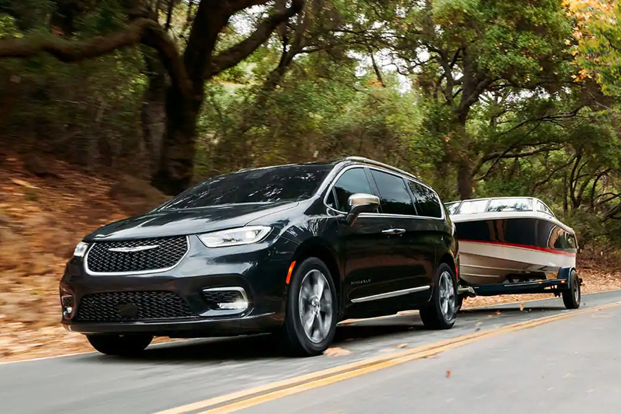 2021 Chrysler Pacifica Towing