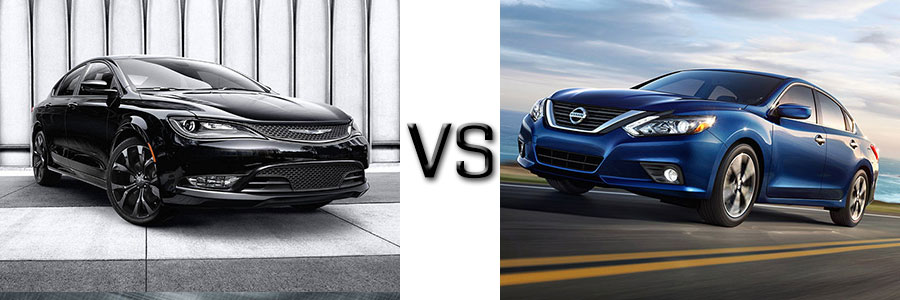 2016 Chrysler 200 vs Nissan Altima