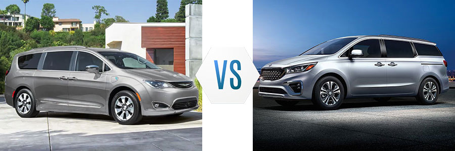 2019 Chrysler Pacifica vs Kia Sedona