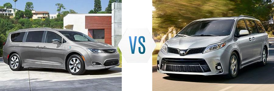 2019 Chrysler Pacifica vs Toyota Sienna