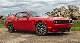 2017 Dodge Challenger Retro Muscle Car Styling