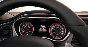 2017 Dodge Challenger Tic-Tac-Tach Gauges