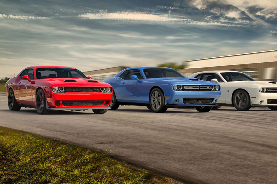 2020 Dodge Challenger On the Road