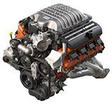 2017 Dodge Challenger SRT Hellcat Supercharged 6.2L Hemi SRT Hellcat V8
