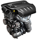 2016 Dodge Dart 2.0L Tigershark Engine