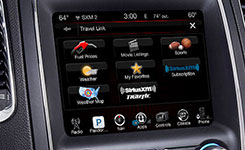 2016 Dodge Durango Uconnect Infotainment