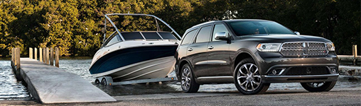 2017 Dodge Durango 7,400 Pound V-8 Towing Capacity