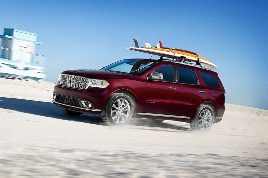 2020 Dodge Durango Off-Roading