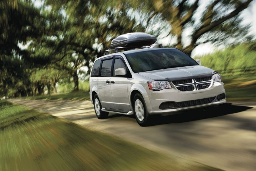 2020 Dodge Grand Caravan on the Road