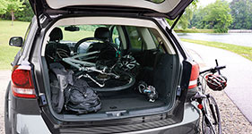 2016 Dodge Journey Compelling Cargo Space