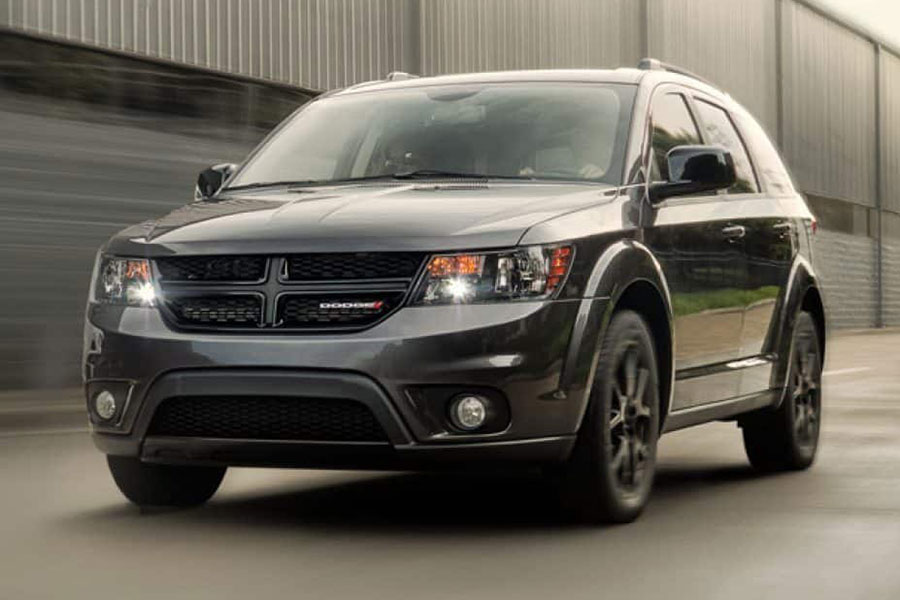 2019 Dodge Journey on the Road
