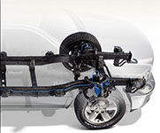 2016 Dodge Ram 1500 Four-Corner Air Suspension