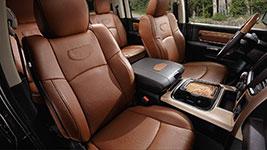 2017 Ram 1500 Rich Interior Comfort