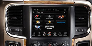 2017 Ram 1500 Turn-by-Turn Navigation