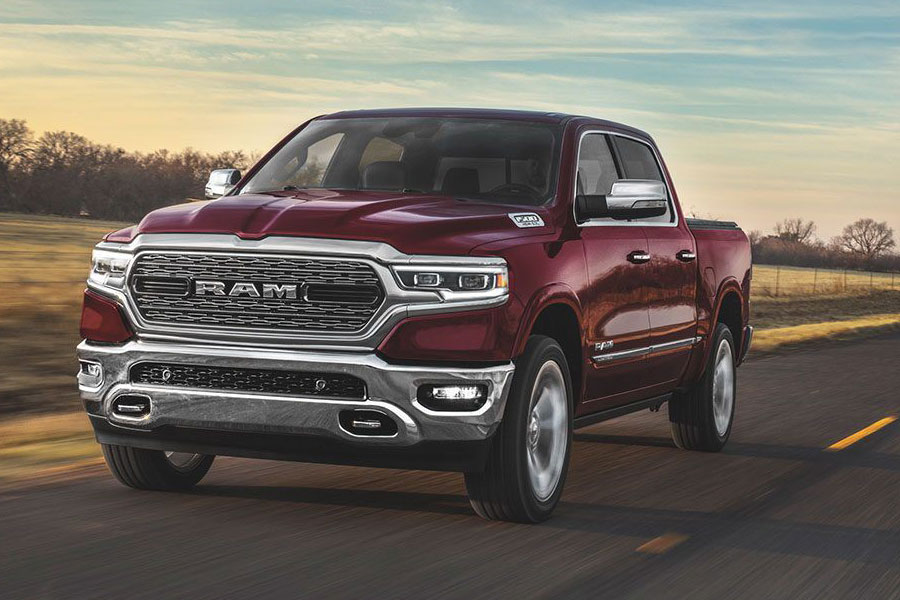 2020 Ram 1500 on the Road
