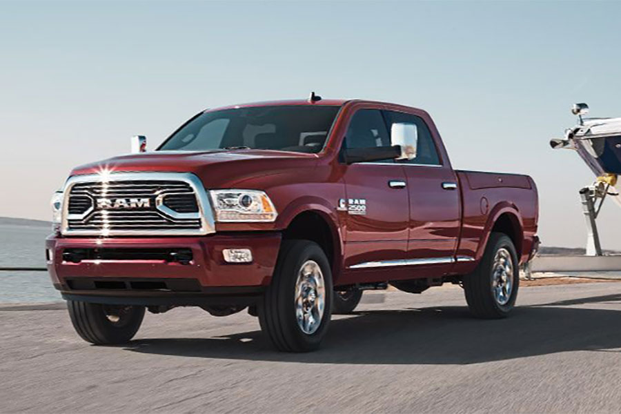 2018 Ram 2500 on the Road