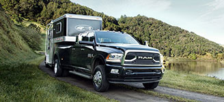 2017 Dodge Ram 3500 Work-Site-Friendly Four-Wheel Drive