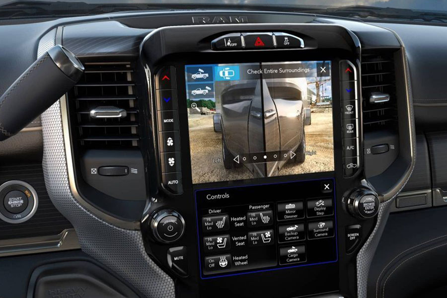 2020 Ram 3500 Back-Up Camera