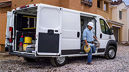 2017 Ram Promaster 1500 Short Step-In Height