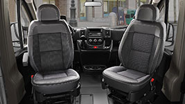 2017 Ram Promaster 2500 Spacious, Comfortable Seating
