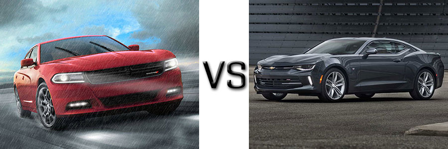 2016 Dodge Charger vs Chevrolet Camaro