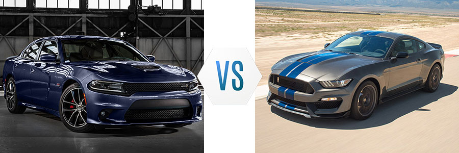 2017 Dodge Charger vs Ford Mustang