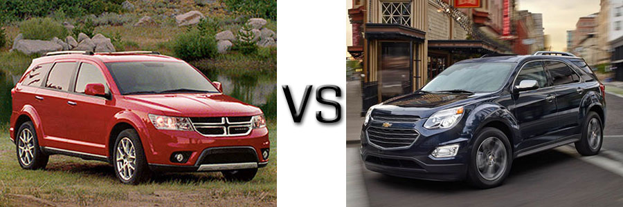 2016 Dodge Journey vs Chevrolet Equinox