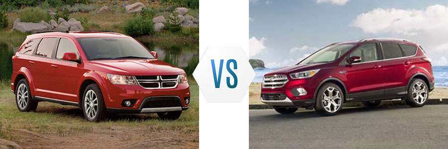 2017 Dodge Journey vs Ford Escape