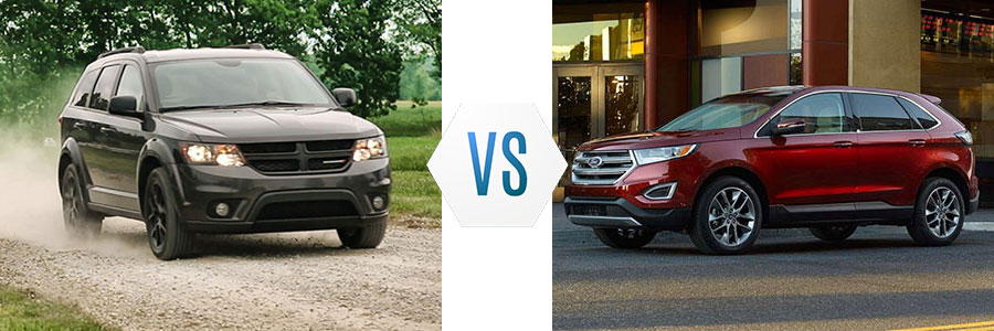 2018 Dodge Journey vs Ford Edge