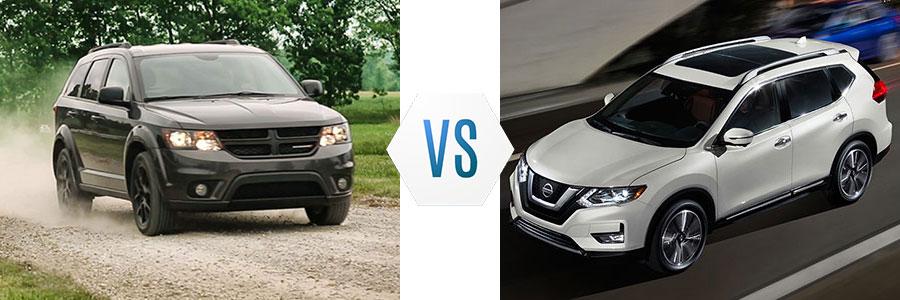 2018 Dodge Journey vs Nissan Rogue