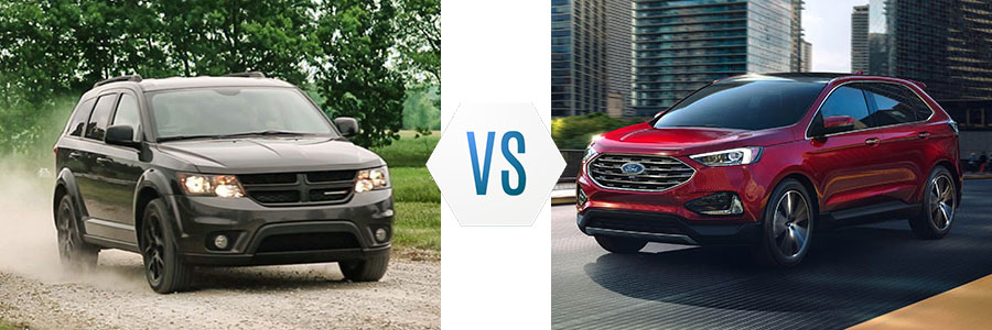 2019 Dodge Journey vs Ford Edge
