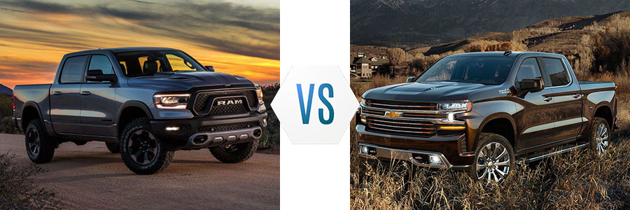2019 All New Ram 1500 vs Chevrolet Silverado 1500