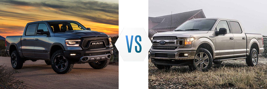All New Ram  Vs Ford F